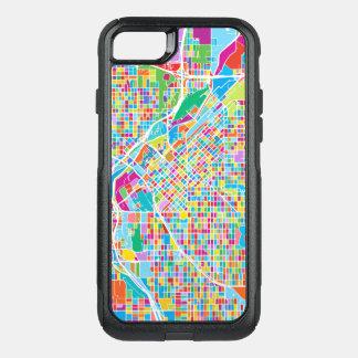 Colorful Denver Map OtterBox Commuter iPhone 8/7 Case