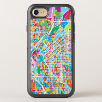 Colorful Denver Map OtterBox Symmetry iPhone 8/7 Case