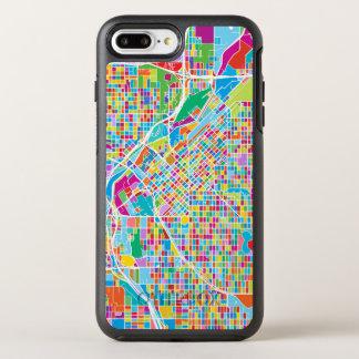 Colorful Denver Map OtterBox Symmetry iPhone 8 Plus/7 Plus Case