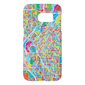 Colorful Denver Map Samsung Galaxy S7 Case