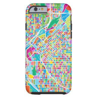 Colorful Denver Map Tough iPhone 6 Case