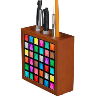 Colorful design pencil holder