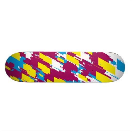 Colorful Design Skateboard
