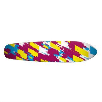 Colorful Design Skate Deck