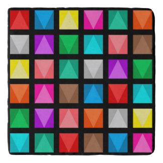 Colorful design trivet