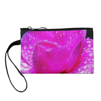 Colorful Dew Drops After The Rain Key Coin Clutch Change Purses