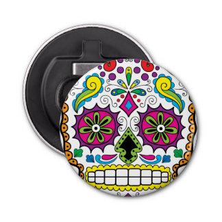 """Colorful """"Dia Des Los Muertos"""" Bottle Opener Style"""