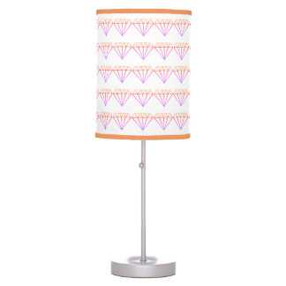 Colorful Diamond Pattern Lamp