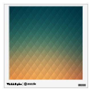 Colorful Diamond Pattern Wall Decal