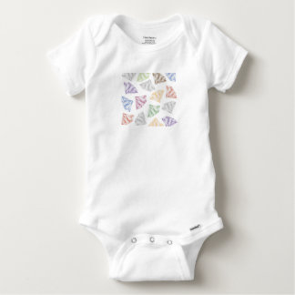 Colorful Diamonds for my sweetheart Baby Onesie