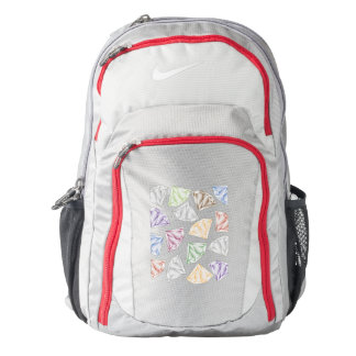 Colorful Diamonds for my sweetheart Backpack