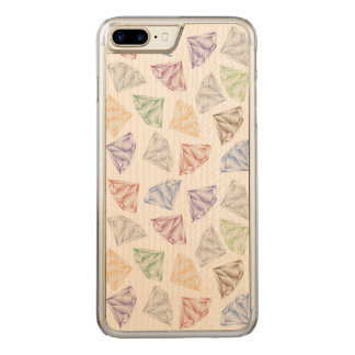 Colorful Diamonds for my sweetheart Carved iPhone 8 Plus/7 Plus Case