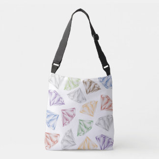 Colorful Diamonds for my sweetheart Crossbody Bag