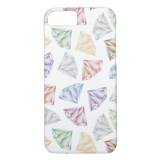 Colorful Diamonds for my sweetheart iPhone 8/7 Case