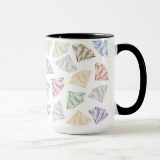 Colorful Diamonds for my sweetheart Mug
