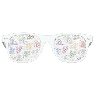 Colorful Diamonds for my sweetheart Party Sunglasses