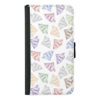 Colorful Diamonds for my sweetheart Samsung Galaxy S5 Wallet Case