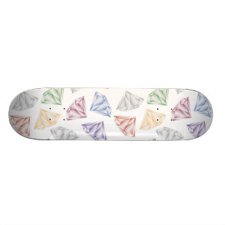 Colorful Diamonds for my sweetheart Skateboard Deck