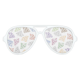 Colorful Diamonds for my sweetheart Sunglasses