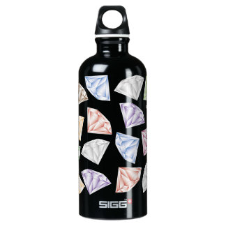 Colorful Diamonds for my sweetheart Water Bottle