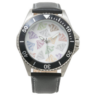 Colorful Diamonds for my sweetheart Wristwatches