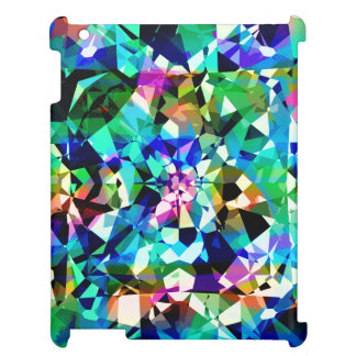 Colorful Diamonds Glitter And Sparkles Case For The iPad 2 3 4