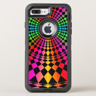 Colorful diamonds pretty alternative OtterBox defender iPhone 7 plus case