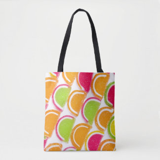 Colorful Different Jelly Candy Tote Bag