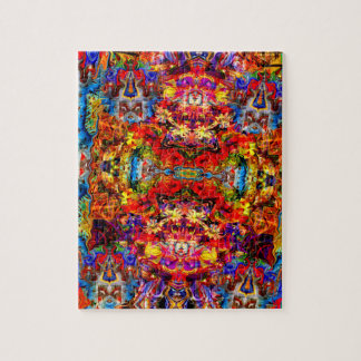 Colorful Digital Abstract Art Jigsaw Puzzle