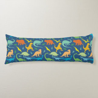 Colorful Dinosaurs Body Pillow