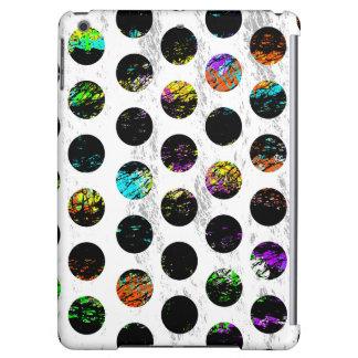 Colorful Distressed Polkadots iPad Air Case
