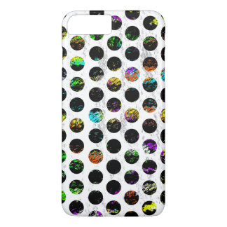 Colorful Distressed Polkadots iPhone 8 Plus/7 Plus Case