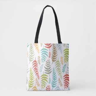 Colorful Ditsy  Floral Background Tote Bag