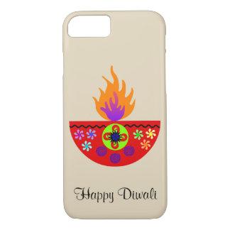Colorful Diwali Lamp Diya Case-Mate iPhone Case