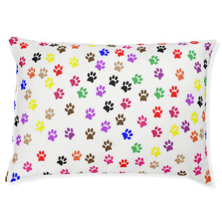 Colorful Dog PAWSitive Prints Pet Bed