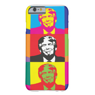 Colorful Donald Trump Face iPhone Case