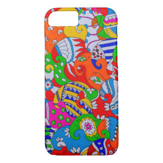 Colorful Doodle iPhone 7 Case
