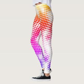 Colorful Dot Pattern Leggings