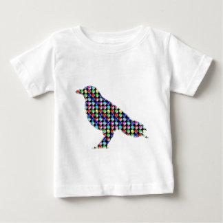 Colorful DOTS CROW Bird Kids NavinJOSHI NVN54 ZOO Tshirt
