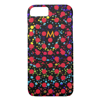 colorful dots iPhone 7 case