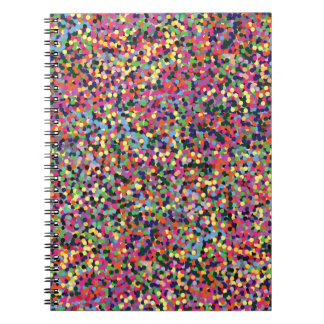 Colorful Dots Note Books