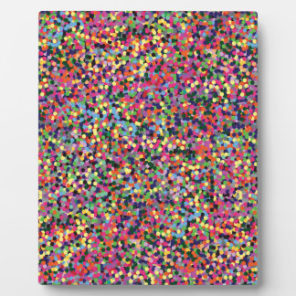 Colorful Dots Plaque