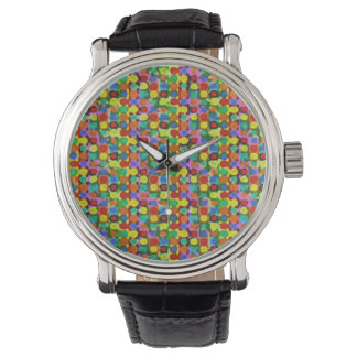 Colorful Dots Wristwatches