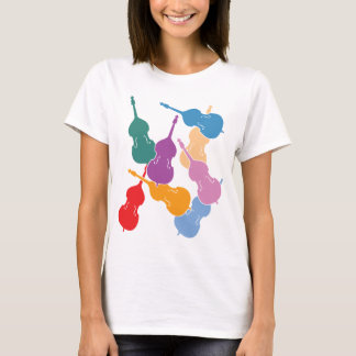 Colorful Double Basses T-Shirt