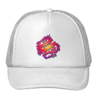COLORFUL DRAGON MESH HATS