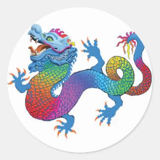 Colorful Dragon Sticker