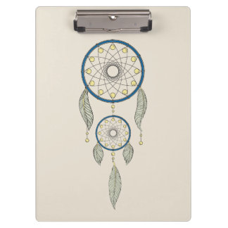 Colorful Dream Catcher Clipboard
