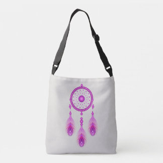 Colorful Dream Catcher Crossbody Bag