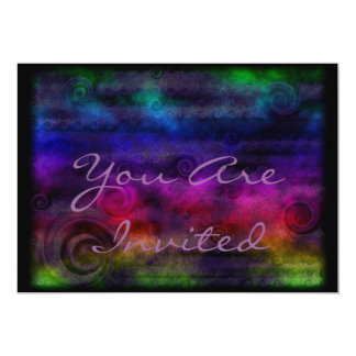 Colorful Dreamy Abstract Card