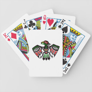 Colorful Eagle Symbol Bicycle Playing Cards